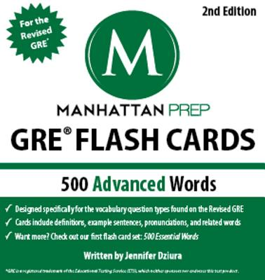 500 Advanced Words By Manhattan Prep (COR)